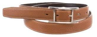 Hermes Quentin Leather Belt