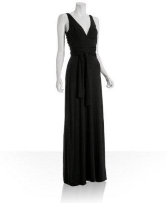 Tart black jersey 'Nero' maxi dress