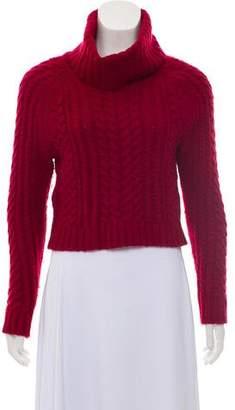 Alice + Olivia Wool Turtleneck Sweater