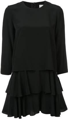 Jason Wu layered ruffle mini dress