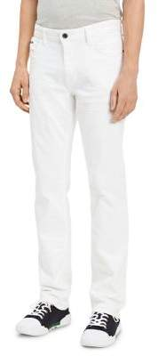 Calvin Klein Jeans Slim Straight-Leg Five-Pocket Jeans