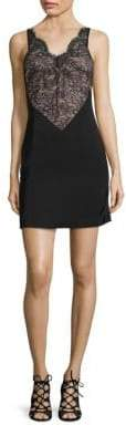 KENDALL + KYLIE Laced Slip Sheath Dress