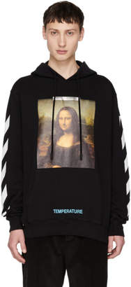 Off-White SSENSE Exclusive Black Monalisa Hoodie