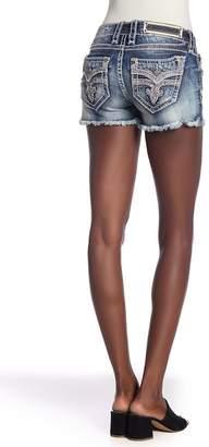 Rock Revival Barbila Distressed Shorts