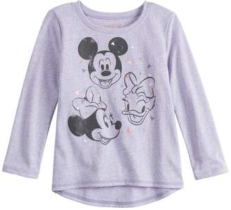 176ae356b Disneyjumping Beans Disney's Mickey Mouse, Minnie Mouse & Daisy Duck Baby  Girl Long-Sleeve