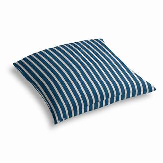 Loom Decor Simple Outdoor Floor Pillow Sunbrella® Shore - Regatta