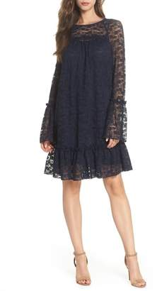 MICHAEL Michael Kors Flare Cuff Lace Dress