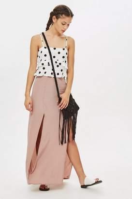 Love Womens **Long Split Front Skirt