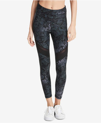 Calvin Klein Performance Printed High-Waist Ankle Leggings