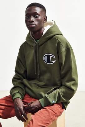 Champion Sherpa Lined Hoodie Sweatshirt