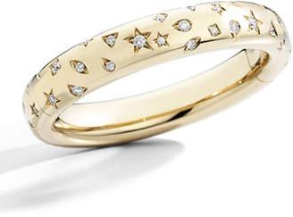 Pomellato Iconica Slim 18K Rose Gold Diamond Bangle