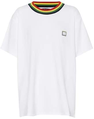 Acne Studios Nasth T Face jersey T-shirt