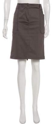 Just Cavalli Straight Knee-Length Skirt