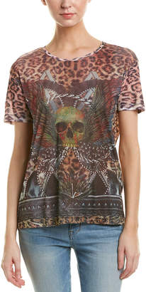 The Kooples Leopard Printed T-Shirt