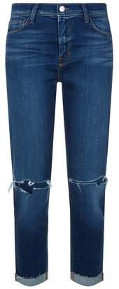 L'Agence Rachel Destruct Slim Fit Jeans