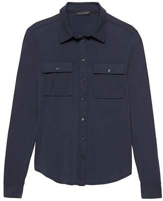 Banana Republic Dillon Classic-Fit Sandwash Modal Shirt