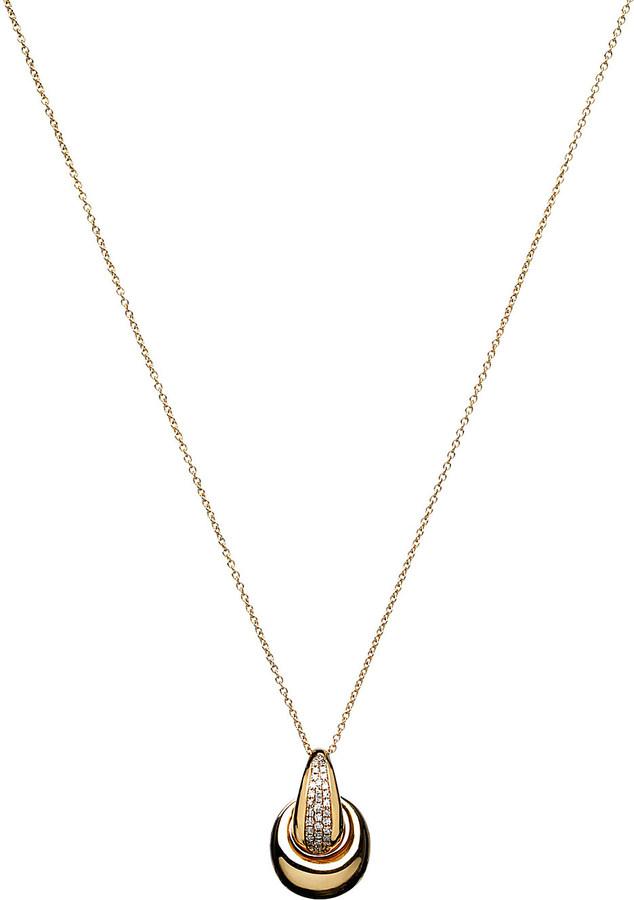 Links Of LondonLINKS OF LONDON Hope 18ct gold diamond pendant necklace