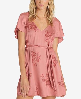 Billabong Juniors' Flutter-Sleeve Mini Dress