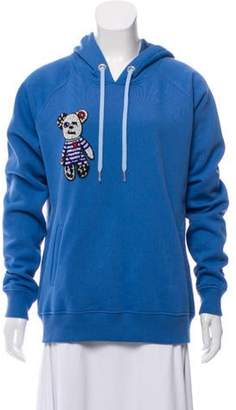 Blue Blood Blood & Honey Hooded Embellished Sweatshirt w/ Tags & Honey Hooded Embellished Sweatshirt w/ Tags