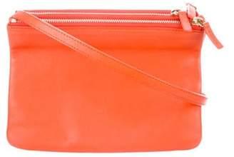 Celine Small Trio Crossbody Bag orange Small Trio Crossbody Bag