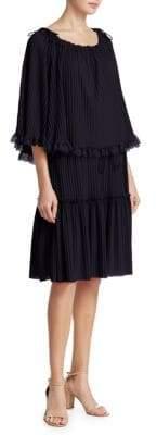 See by Chloe Gauzy Layered Dress