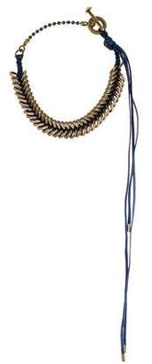 Giles & Brother Braided Hex Collar Necklace