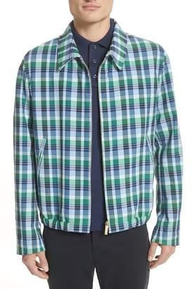Thom Browne Dbl Welt Pocket Plaid Jacket