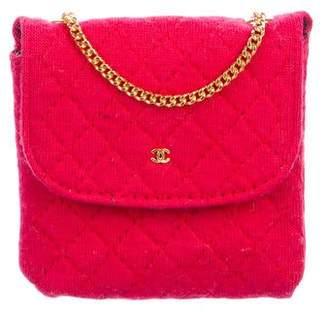 Chanel Micro Mini Jersey Flap Bag