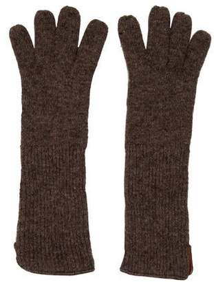 Marni Wool & Cashmere Knit Gloves