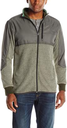 UNIONBAY Men's French Terry Full Zip Jacket