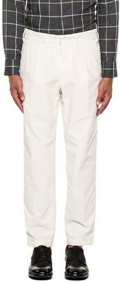 The Gigi Ivory Santiago Velvet Trousers