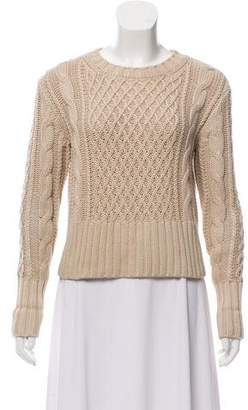 Acne Studios Long Sleeve Chunky Knit Sweater