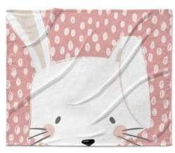 Bunny Fleece Blanket