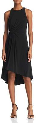 Adrianna Papell Gathered Jersey Dress