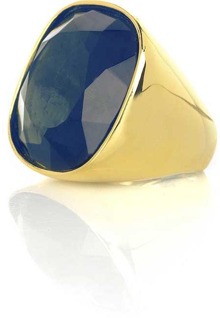 Kenneth Jay Lane Large crystal cocktail ring