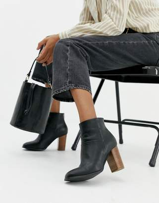 Asos DESIGN Essy heeled ankle boots