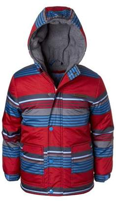 Wippette Multi Striped Ski Jacket with Fleece Lined Hood (Little Boys)