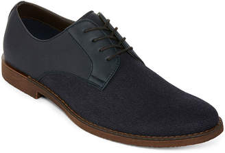 Jf J.Ferrar Mens Marcus Oxford Shoes Lace-up Round Toe