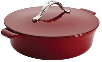 Anolon Vesta Cast Iron Cookware 5-Quart Round Covered Braiser