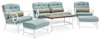 Hanover Oceana 6-Piece Patio Seating Set