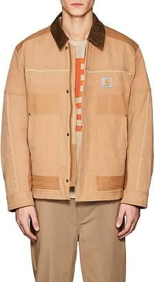 Junya Watanabe Comme des Garçons Men's Logo Cotton Canvas Jacket