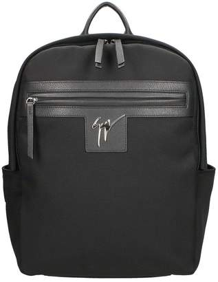 Giuseppe Zanotti Randy Black Backpack
