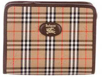 Burberry Vintage Horseferry Check Pouch
