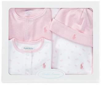 Ralph Lauren Girls' 4 Piece Gift Set - Baby