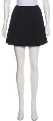 DKNY Pleated Mini Skirt