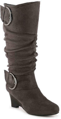 Journee Collection Irene-1 Wedge Boot - Women's
