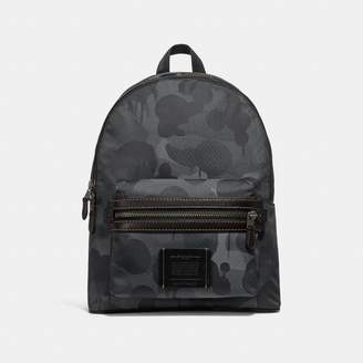 Coach Academy Backpack In Cordura Fabric With Wild Beast Print