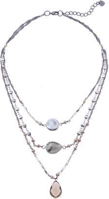 Nakamol Design Layered Pendant Necklace