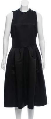 Devi Kroell Silk Midi Dress
