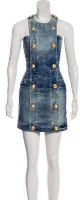 Balmain Denim Mini Dress